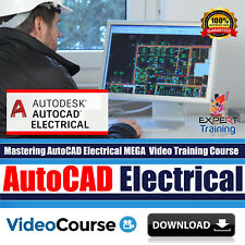 Mastering AutoCAD Electrical MEGA Video Training Course Pack DOWNLOAD