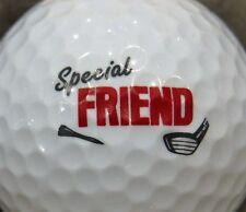 (1) Special Friend Logo Golf Ball