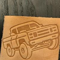 Delrin Leather Stamp Dodge car logo
