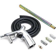 Air Powered Sandblaster Tool Kit with 3 sandblasting nozzles
