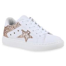 2e43a5c1ce81 Sneaker Weiß Gold in Damen-Turnschuhe   -Sneakers günstig kaufen   eBay