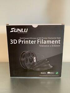SUNLU PLA+ PLUS Filament 1.75mm for 3D Printer & 3D Pens, 1KG (2.2LBS) PLA+ 3D