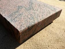 Blockstufe Podest geflammt Trittstufe Treppenstufe Aussentreppe Naturstein  6cm