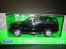Welly Chevrolet Tahoe 2008 Street Version Black 1/24