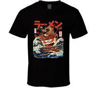 The Great Ramen Off Kanagawa Japanese Monster Funny T Shirt Anime Manga T Shirt