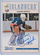 "2012-13 GLEN ""CHICO"" RESCH CLASSICS AUTO! NEW YORK ISLANDERS! MINT!"
