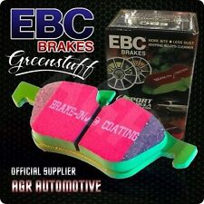 EBC GREENSTUFF FRONT PADS DP21320 FOR FORD FIESTA 1.6 2000-2008