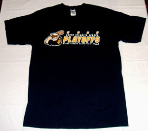 Lake County Captains MiLB 2003 South Atlantic League Playoffs Mens Large T-Shirt