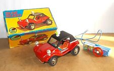 Vintage tin toy SHINSEI japan - rc DUNE BUGGY vw volkswagen IN ORIGINAL BOX- 60s