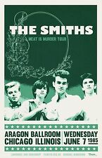 The Smiths 1985 Tour Poster