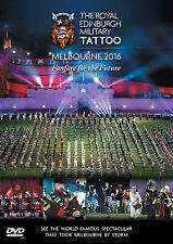 ROYAL EDINBURGH MILITARY TATTOO MELBOURNE 2016 DVD ALL REGIONS PAL NEW