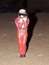 Michael Schumacher Ferrari F399 1999 pilot Mini DRIVER FIGURE 1:43 METAL