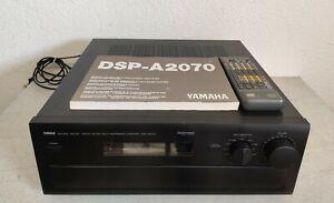 YAMAHA DSP A 2070 7 Kanäle Verstärker Vollverstärker Bedienungsanleitung Fernbed