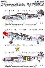 AML Models Decals 1/32 MESSERSCHMITT Bf-109K-4 with Resin Wheels Part 2