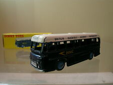 DINKY TOYS UK  283 B.O.A.C. COACH / BUS BLUE / WHITE  BOXED SCALE 1:43