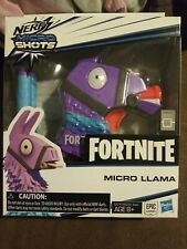 Fortnite Nerf Micro Llama Dart Blaster with 2 Fortnite Elite Darts NIB Hasbro