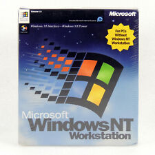Microsoft Windows NT Workstation 4.0 Operating System Full Version CD-Rom