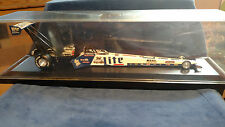 NHRA 1/24 Larry Dixon Miller Lite 1998 Dragster With Display Case by Action