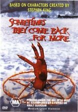 SOMETIMES THEY COME BACK FOR MORE - STEPHEN KING - NEW DVD