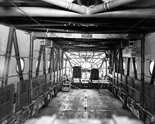 8x10 Print Northwestern Aeronautical Fuselage Interior WACO CG-13 Cargo Glider