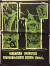 Original Monster Horror 1955 It Came From Beneath The Sea Pressbook