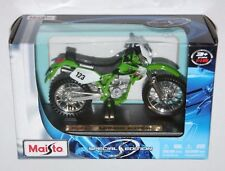 Maisto 1 18 KAWASAKI KLX250SR  Die cast model on road bike special edition