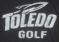 UNIVERSITY OF TOLEDO OHIO ROCKETS large GOLF TEAM T-SHIRT student athlete LOGO
