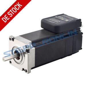 180W Nema 23 Integrated Servo Motor 3000RPM 0.6Nm 20-50VDC Brushless DC Motor
