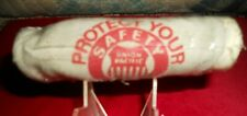 VTG UNION PACIFIC RAILROAD EMPLOYEE LEATHER WORK GLOVES LARGE ORG. PACKAGE NOS