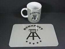 Ruhr Region Breakfast Set, Coffee Cup & Bread Board, 2 Er Set, Breakfast Plate