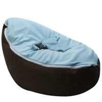 Baby Toddler Bean Bag Chair Kids Sofa Couch Cover Indoor Lounger with Harness
