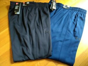 NWT $55. Men's UNDER ARMOUR Loose Fit, Tapered Fleece Pants / Sweatpants 1320757