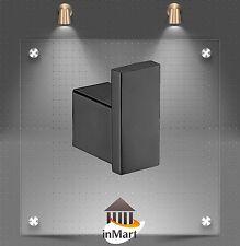 Matt Black Robe Hook Towel hanger for Bathroom Shower Toilet Solid Brass Chrome