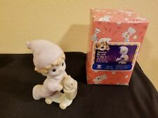 Precious Moments Bo111 Scooting By Just To Say Hi 1996 With Box