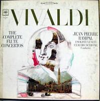 RAMPAL SCIMONE vivaldi complete flute concertos 3 LP VG D3S 370 Vinyl  Record