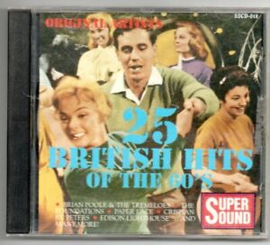 Various Artists: 25 British Hits of the 60's  CD  Good Condition