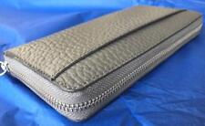 Cole Haan Saunders Men's Grey pebbled leather continental wallet