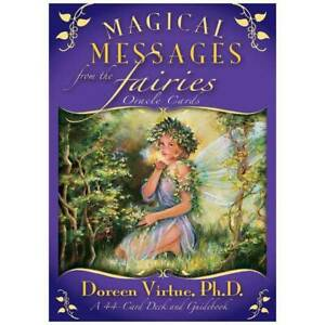 Magical Messages from the Fairies Oracle Cards by Doreen Virtue Tarot Psychic a