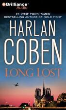 LONG LOST bestselling audio book on CD by HARLAN COBEN - Brand New! Fast Ship!