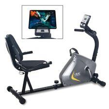 Vélo d'appartement Semi-allongé pour exercices entrainement cardio calories Neuf