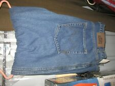 MENS BLUE JEANS FLEECE LINED OLD MILL WORK PANTS