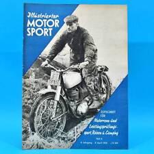 DDR Illustrierter Motorsport IMS 8/1958 AJS 7 R Mars Monza II Super Sport Mode