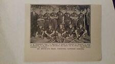 St. Boniface & St. Cassimer Catholic 1911 Baseball Team Picture SP RARE Chicago