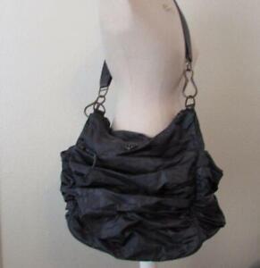 LULULEMON charcoal gray grey arabesque crossbody gym bag athletic FAB