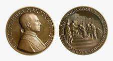 pcc2135_48) Medaglia Papa Pio XII PROCLAMAZIONE FESTA DEL LAVORO Anno XVIII 1956