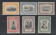 Panama 1948 Firefighters Sc 358-363 Mint very lightly hinged.