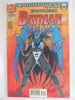 DC Comics Batman Detective Comics Comic #675 Jun 1994 NM (ref 832) Knightquest