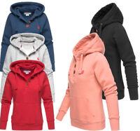 Marikoo Yuriko Damen Hoodie Sweatjacke Sweatshirt Pullover Sweater Kapuzenpulli