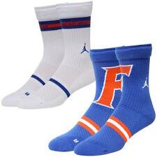 NIKE JORDAN Florida Gators Legacy Crew Socks Large 8-12 Basketball Football UF.