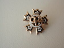 USA FRATERNITY PIN SIGMA NU. MADE IN GOLD. NAMED & DATED 1936. 62